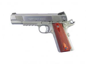 Colt 1911 39 Rail Gun 39 45 ACP SS Finish Full Size