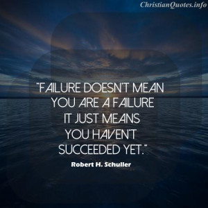 ... robert h schuller quote failure robert h schuller quote images