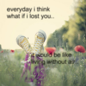 If I Lost You