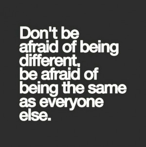 Don't be Afraid - quotes Photo