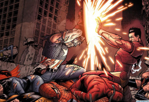 Captain America vs Iron Man Civil War