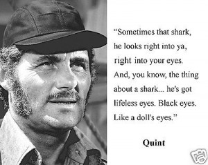 Jaws Captain Quint Quotes