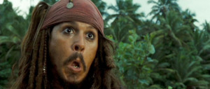 Pirates of the Caribbean Captain Jack Sparrow!