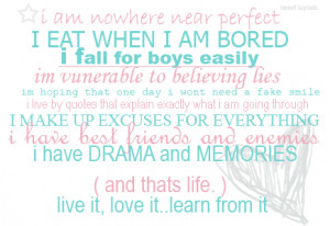 MY FAVOURITE QUOTES