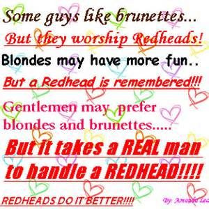 Redhead Quotes And Graphics Pictures