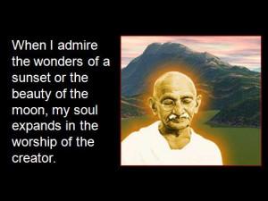 Mahatma Gandhi - Inspirational Quotes