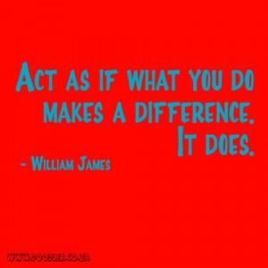 Quote – William James
