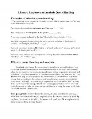 Literary Essay Topics