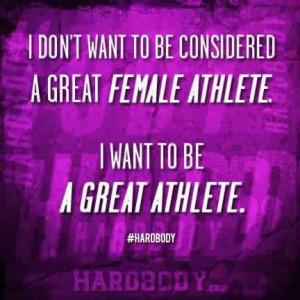 Great athlete