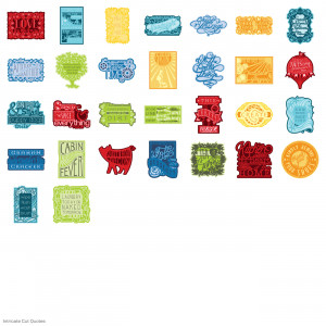 Intricate Cut Quotes Cricut® Cartridge