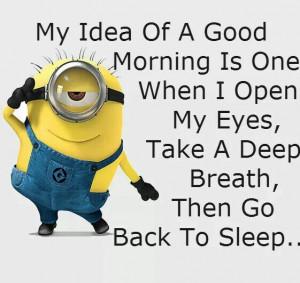 Monday Morning Minion Advice.#Minions #Quotes #Advice