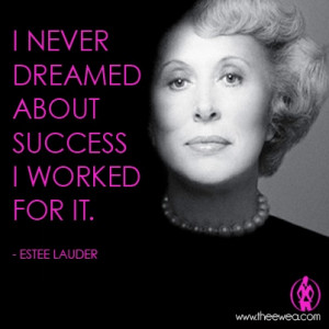 Estee Lauder #Empowering #Women #Entrepreneur