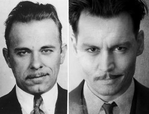 The real John Dillinger vs. Johnny Depp