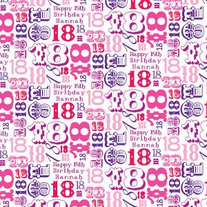 18th Birthday 18th birthday personalised