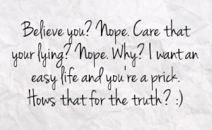 Lies Facebook Status On Paper Background