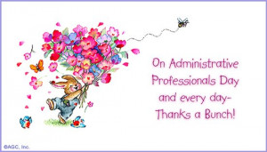 Happy Administrative Professional's Day!