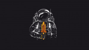 Minimalist Astronaut