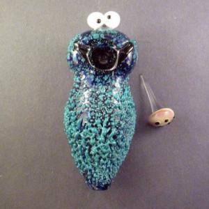 jewels pipe weed bowl weed tumblr cute blue cookie monster smoke