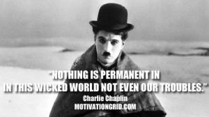 Motivational Quote Image - Charlie Chaplin - http://motivationgrid.com ...