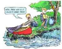 ... are provided by Paul Mason , the canoeing cartoonist from Canada