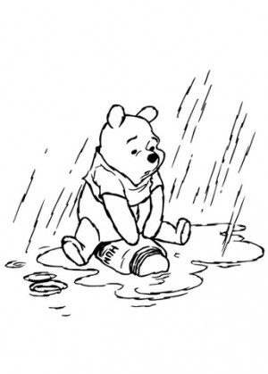 This rain started with the news that my great uncle had passed away ...