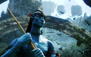 Download Jake Sully - Avatar 1280x800 Wallpaper