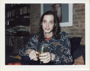 John Waters hanging out in Danny Fields' NYC apartment in 1973)