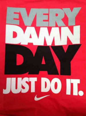 Dont think just do it