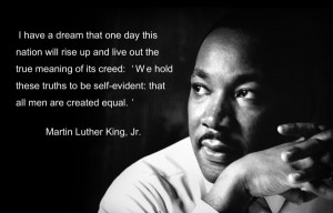 Today we celebrate a man whose passion, words and actions moved a ...