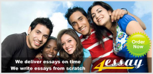APA format of the text pages of an essay paper