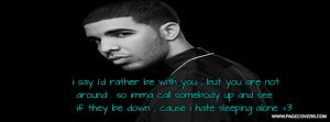 Dear Haters Facebook Cover...
