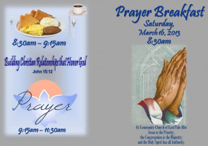 Men Prayer Breakfast This...