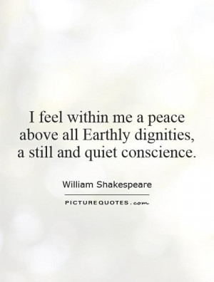 Quotes About Peace and Quiet