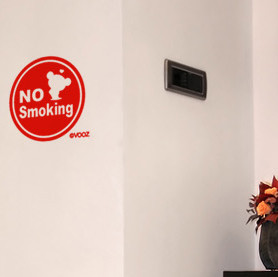China Doll PUCCA 's non-smoking switch wall art quotes and saying home ...
