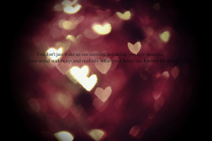 bokeh, hearts, love, love quotes, quote - inspiring picture on Favim ...