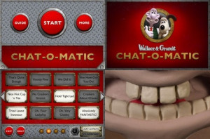 Here is a video demo of the Wallace And Gromit – Chat-O-Matic app on ...