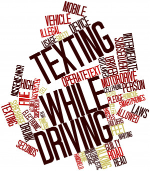 Texting While Driving Word Jumble - 12.28.12