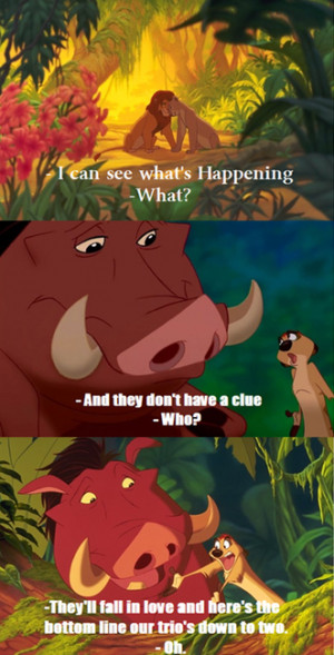 Lion King Quotes Timon