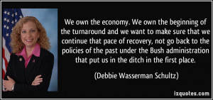 More Debbie Wasserman Schultz Quotes