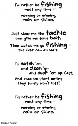 Fishing Poem