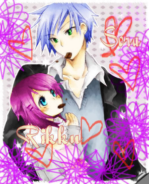 Related Pictures anime couples quotes i love you card