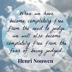 Henri Nouwen Quote