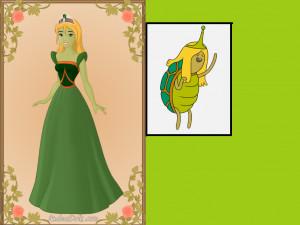 Turtle Princess Fan Art Elf