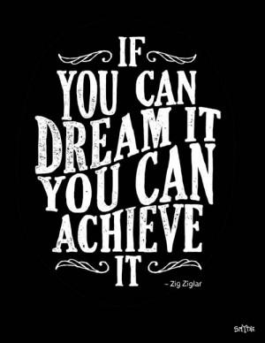Motivational Typography Picture Quote Zig Ziglar