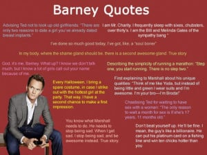 How i met your mother barney quotes