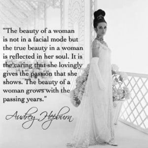 BF QOD: The beauty of a woman...