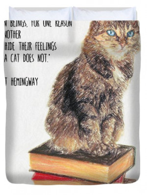Ernest Hemingway Quotes About Cats Quotesgram