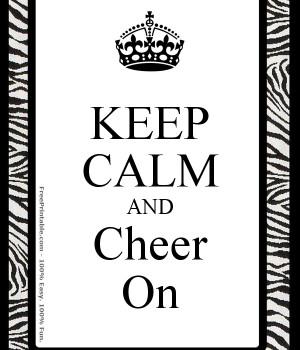 Notes Keep Calm Cheerleading Cheer Quotes Tumblr