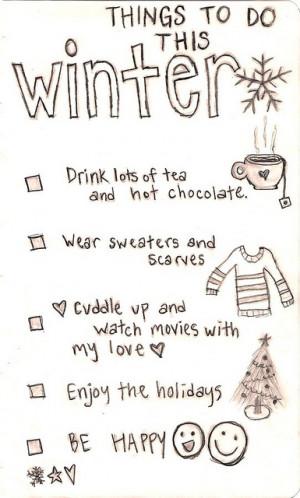 text #winter list #winter