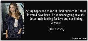 Quotes About Not Acting Like Someone